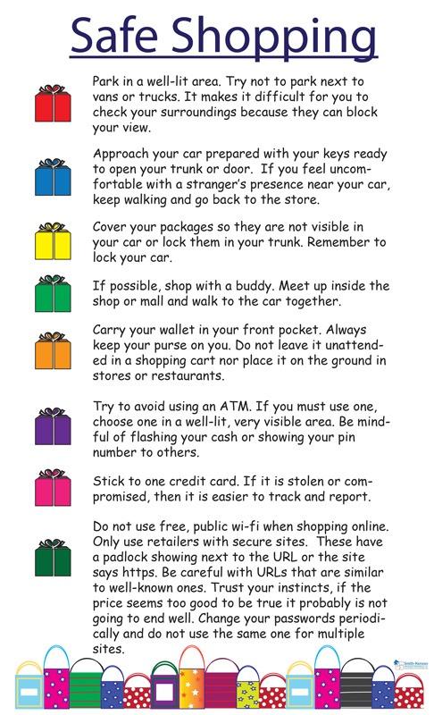 Tips for Safe Shopping