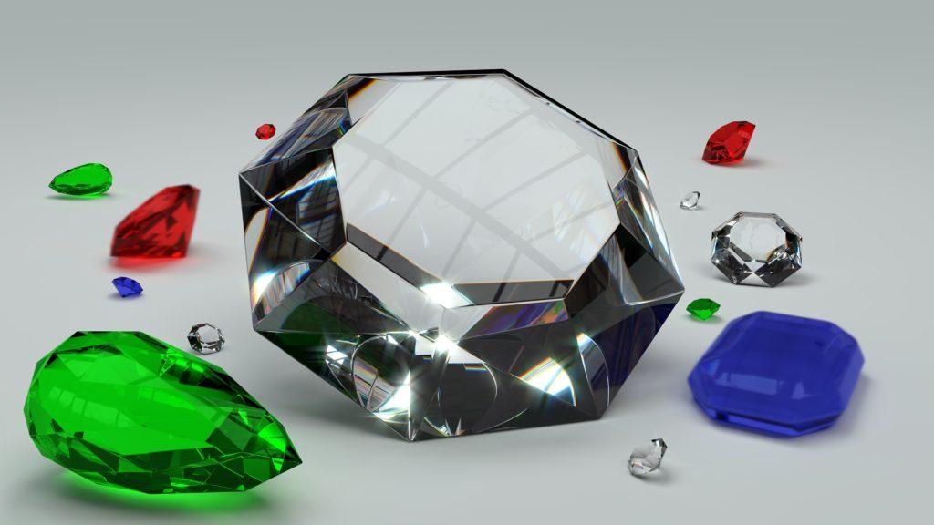 Loose diamonds, emeralds, rubies and sapphire?