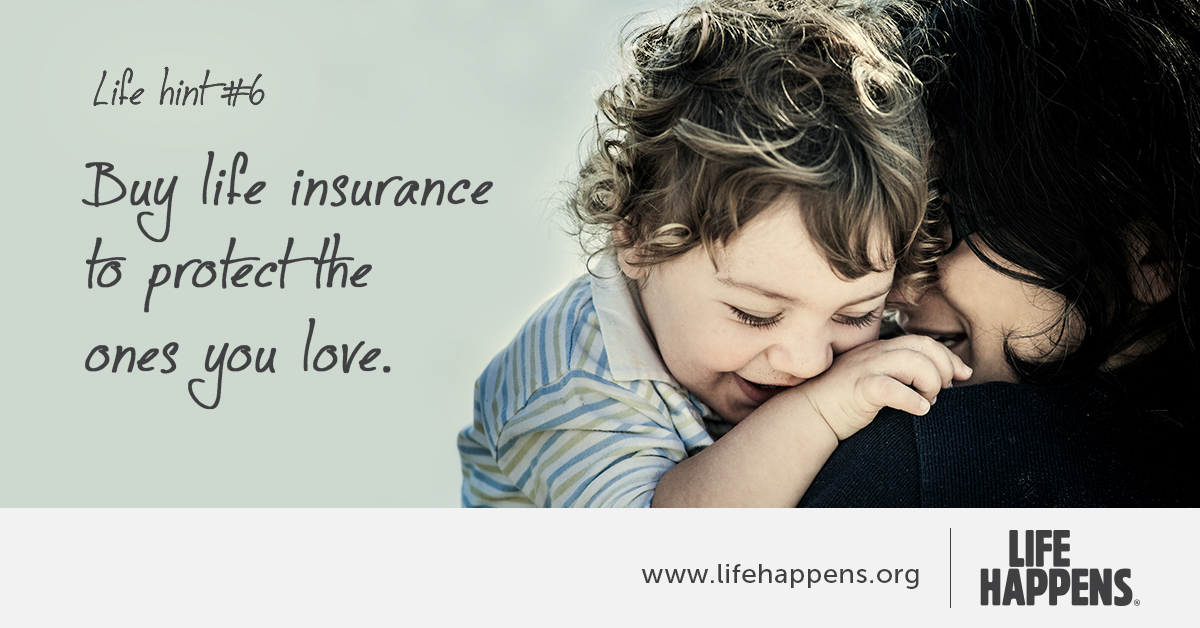 Mom holding young child Why Life Insurance Matters